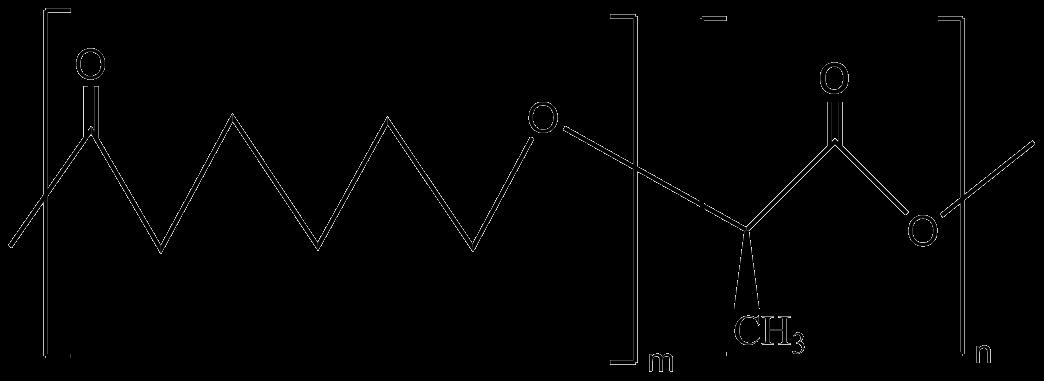 Poly(D-lactide-co-caprolactone)