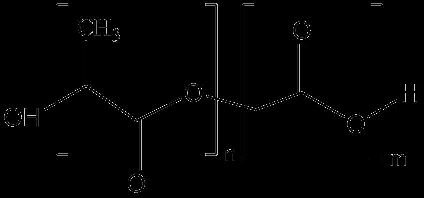 Poly(D,L-lactide-co-glycolide)