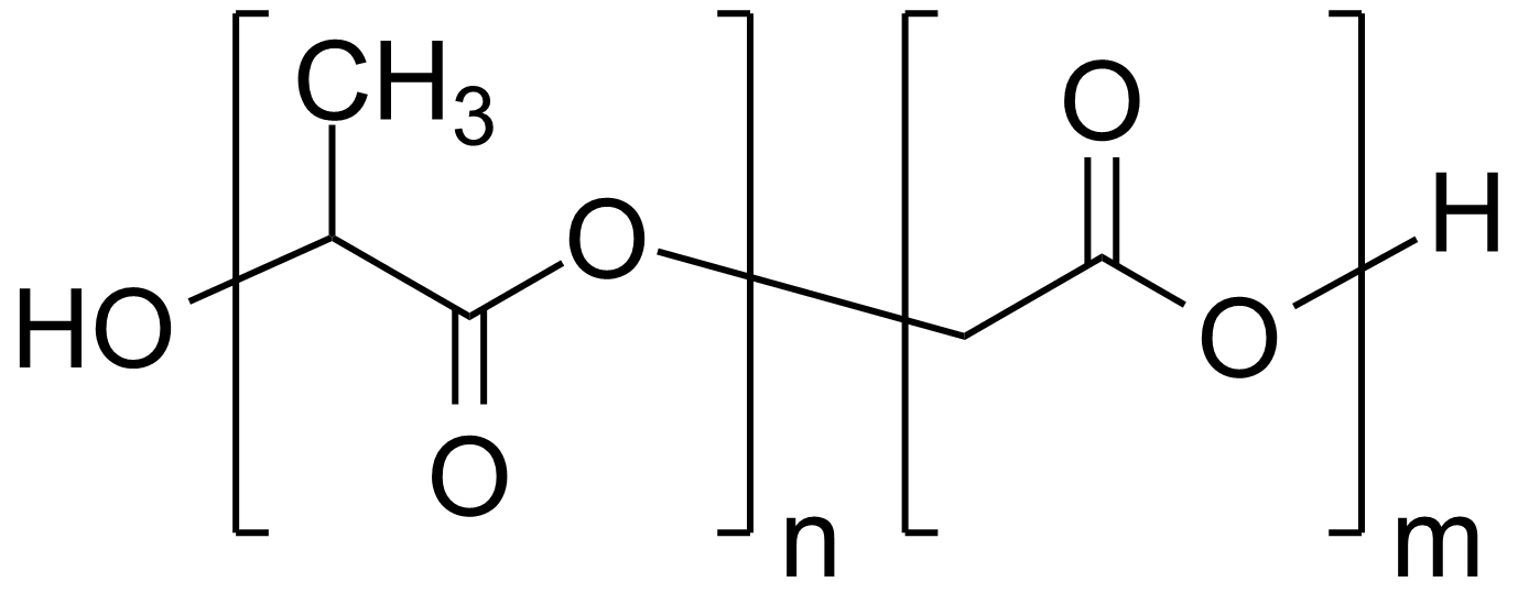 Poly(D,L-lactide-co-glycolide)